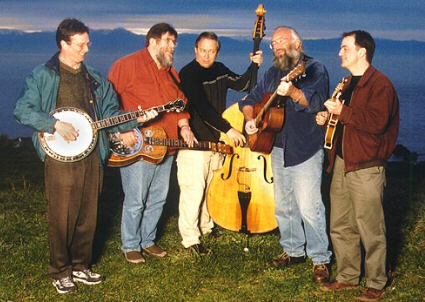 Clover Point Drifters bluegrass band
