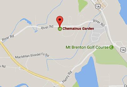 Map for Chemainus Gardens RV Park